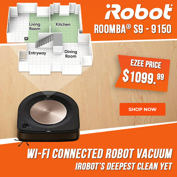 iRobot Roomba s9 9150 Wi-Fi Connected Robot Vacuum